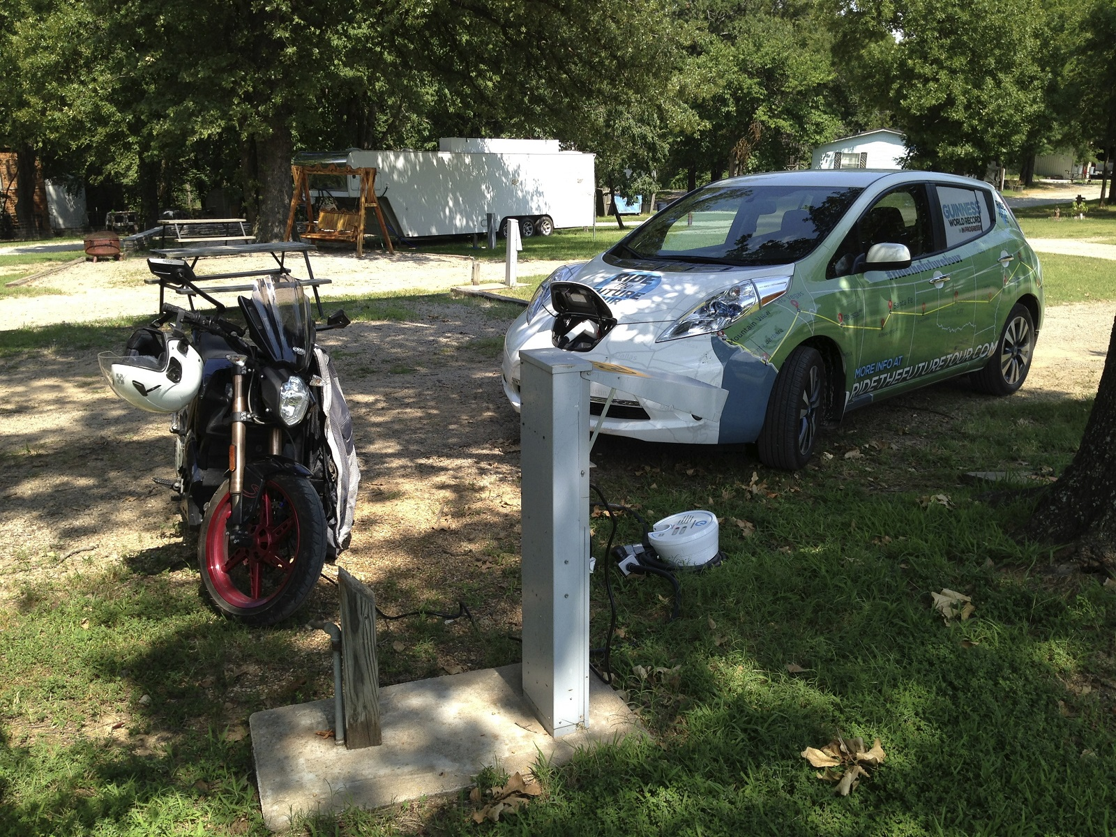Electric Vehicles In Rv Campgrounds What You Need To Know Power Hookup