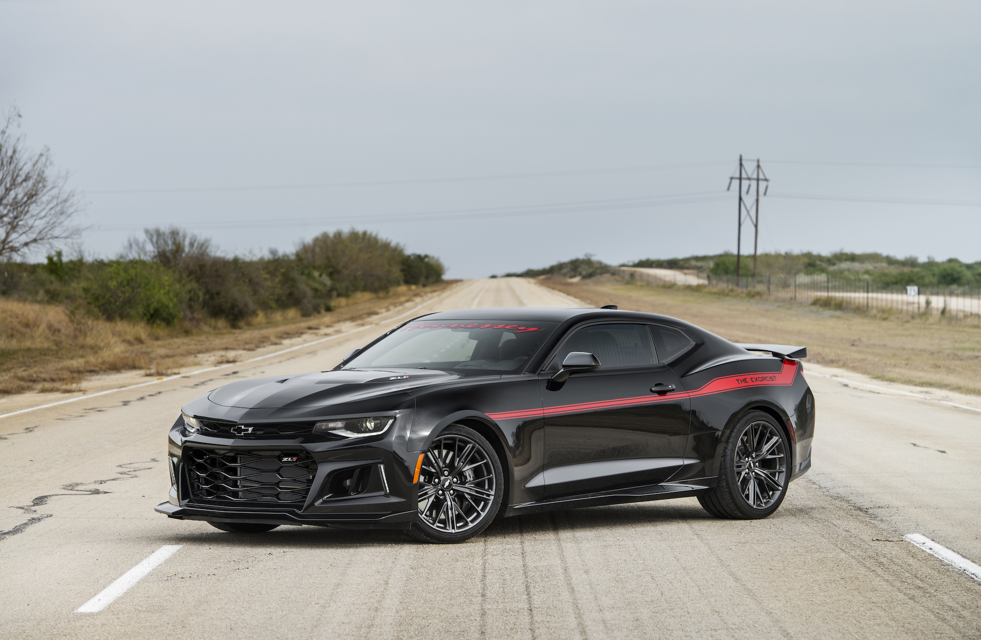 Hennessey S Exorcist Camaro Is Quicker In The 1 4 Mile Than The Dodge Demon