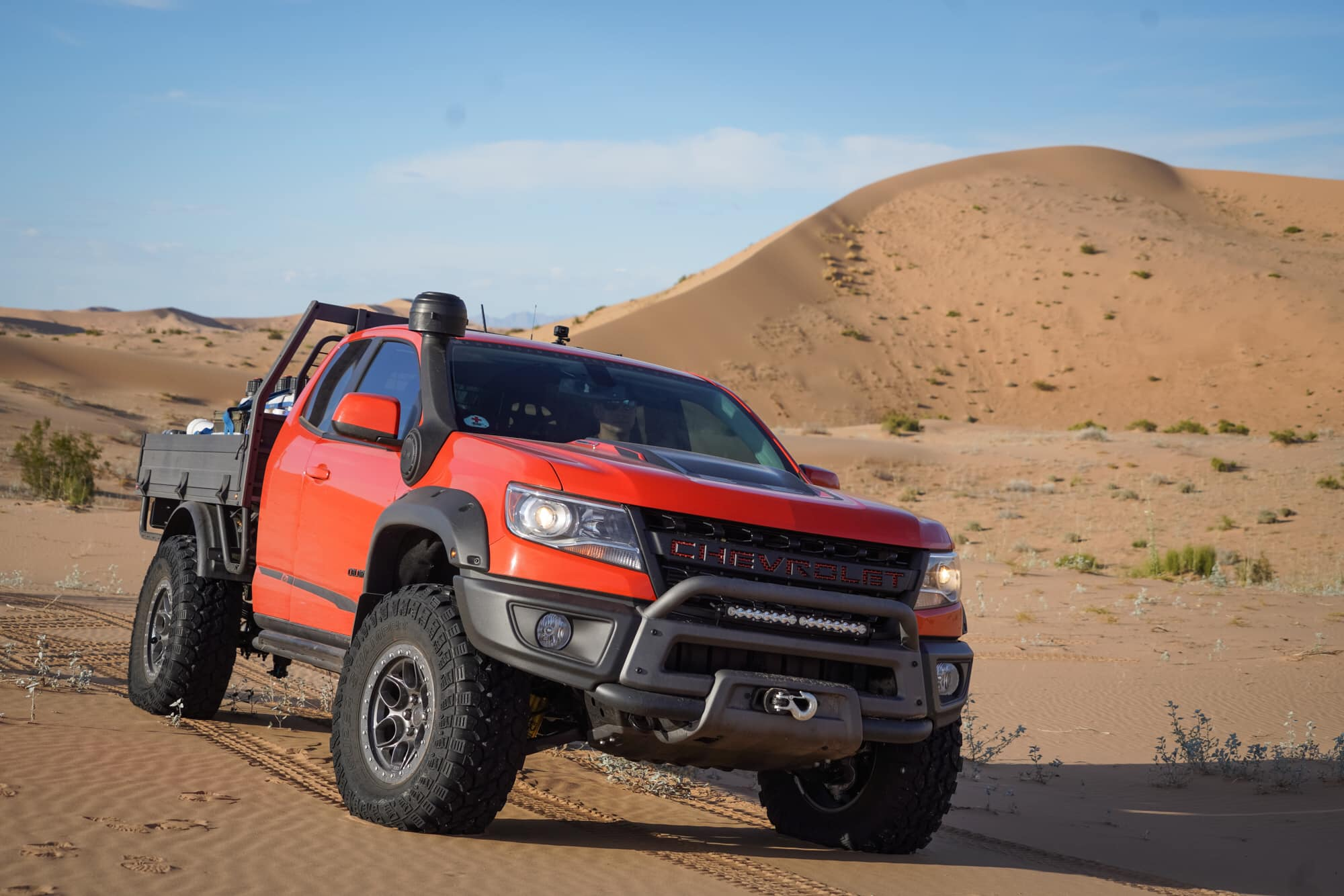 2019 Chevy Colorado Bison Zr2 Aev Tray Bed Concept Is One