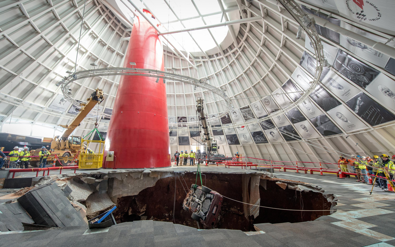 Corvette Museum To Keep Sinkhole Open