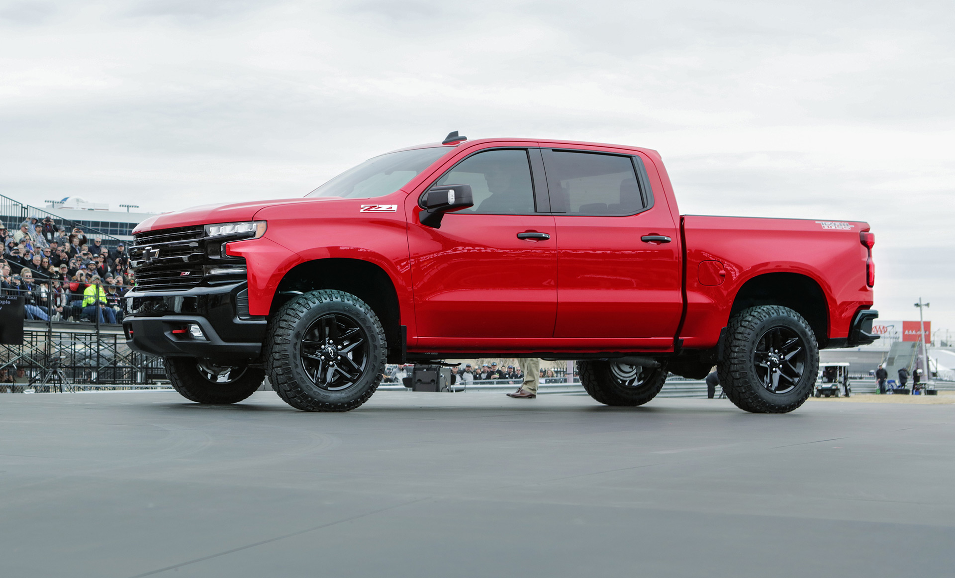 2019 Chevrolet Silverado 1500 Trail Boss Takes Bowtie Brand To New