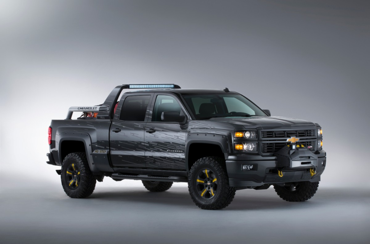 Chevy Silverado Black Ops Concept Is The Perfect Vehicle For Zombie Apocalypse