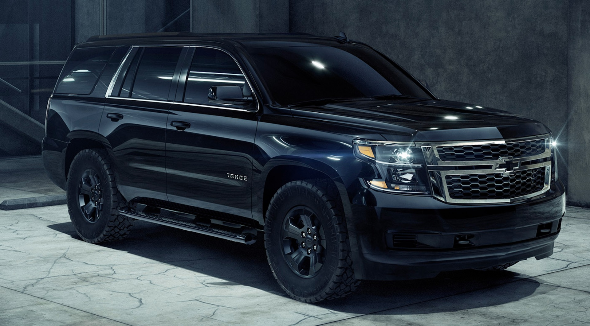 2018 Chevrolet Tahoe Custom Midnight is blacked out on a ...