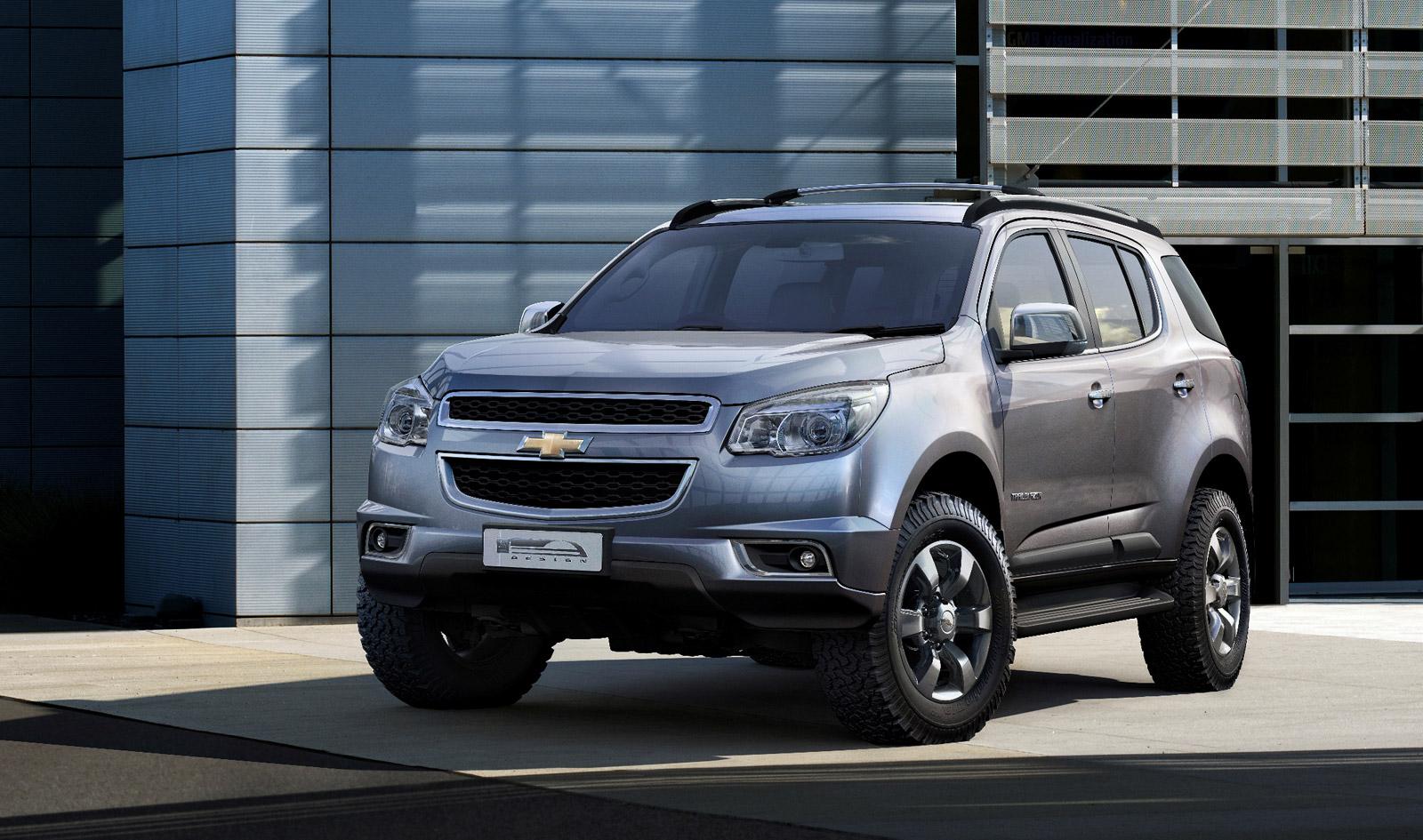 Chevy 2012 chevy trailblazer : 2013 Chevrolet TrailBlazer Revealed In Production Trim