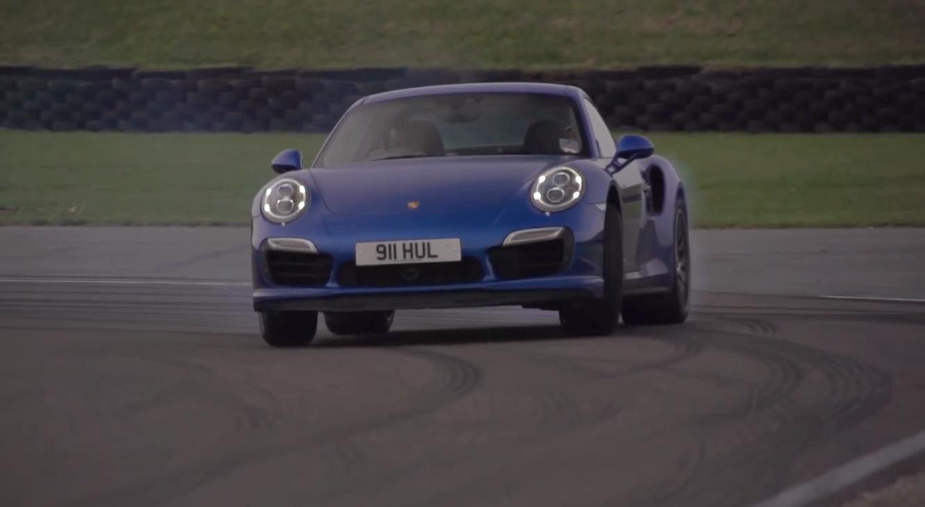 Chris Harris Pits Porsche 911 Turbo Against McLaren 12C: Video