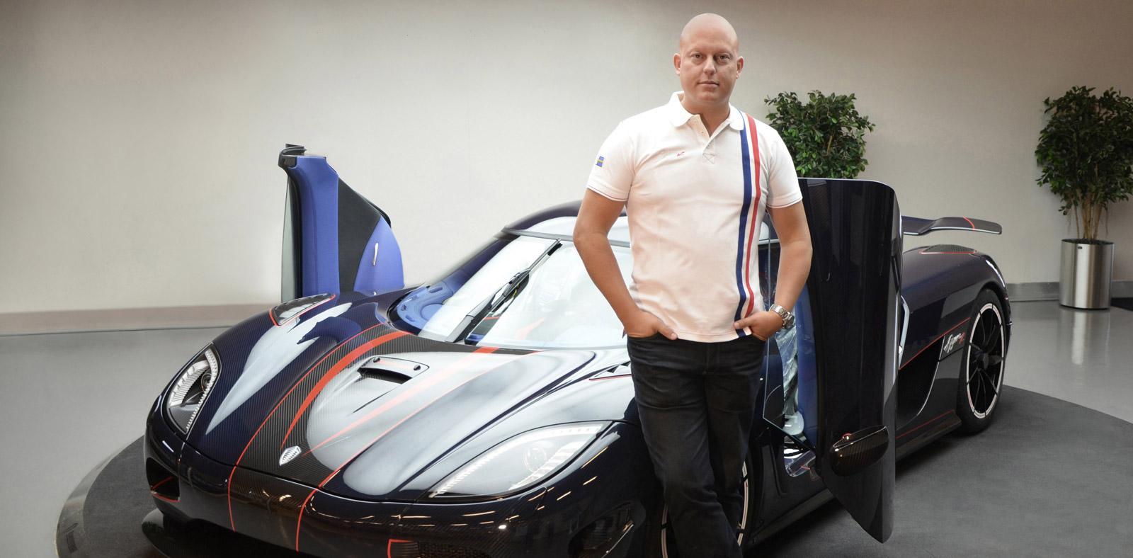 koenigsegg founder buys tesla model     fun  drive