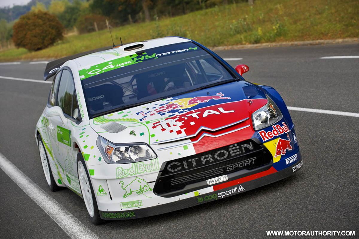 Citroën C4 WRC HYmotion4 Hybrid Rally Car Concept