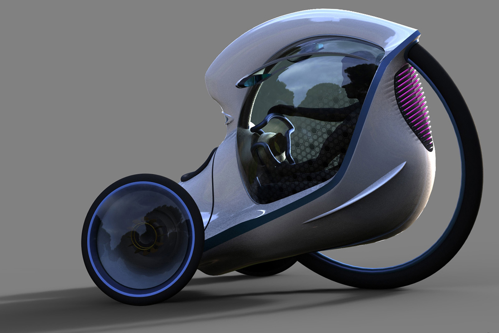 Urban Transport Of The Future Bike Meets Car With E 3pod