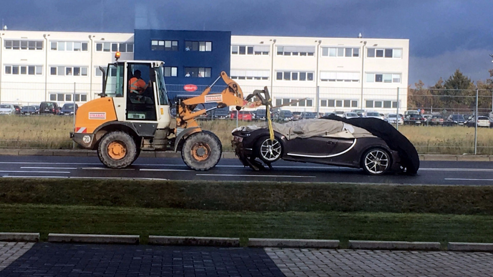 It Happened A Bugatti Chiron Has Been Crashed
