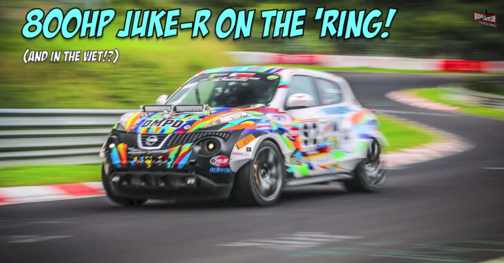 Nissan Juke-R (WITH NAWSSS) Laps The Nürburgring Like A Beast: Video