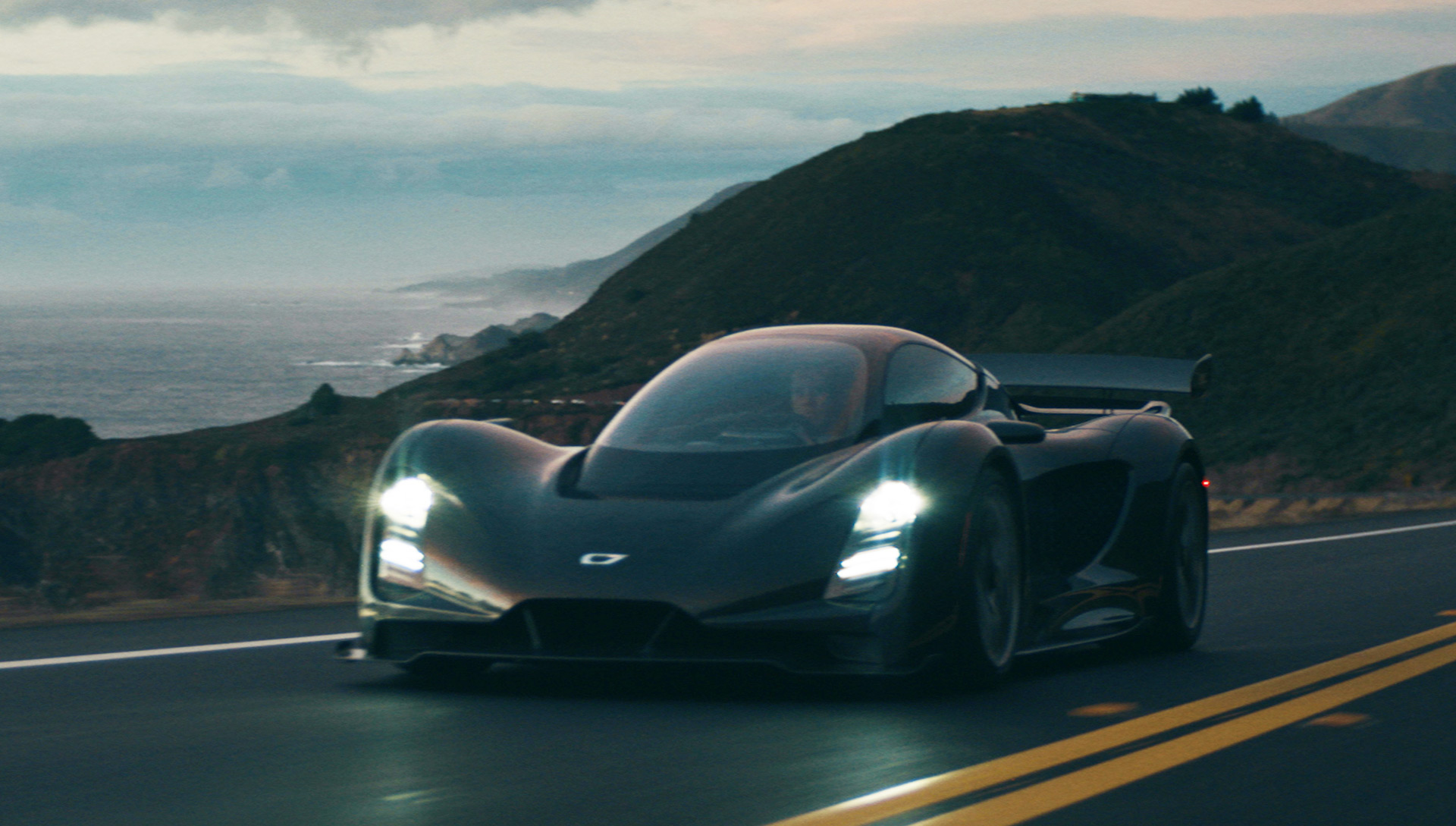 Czinger 21C is a 3D-printed hybrid hypercar from the US