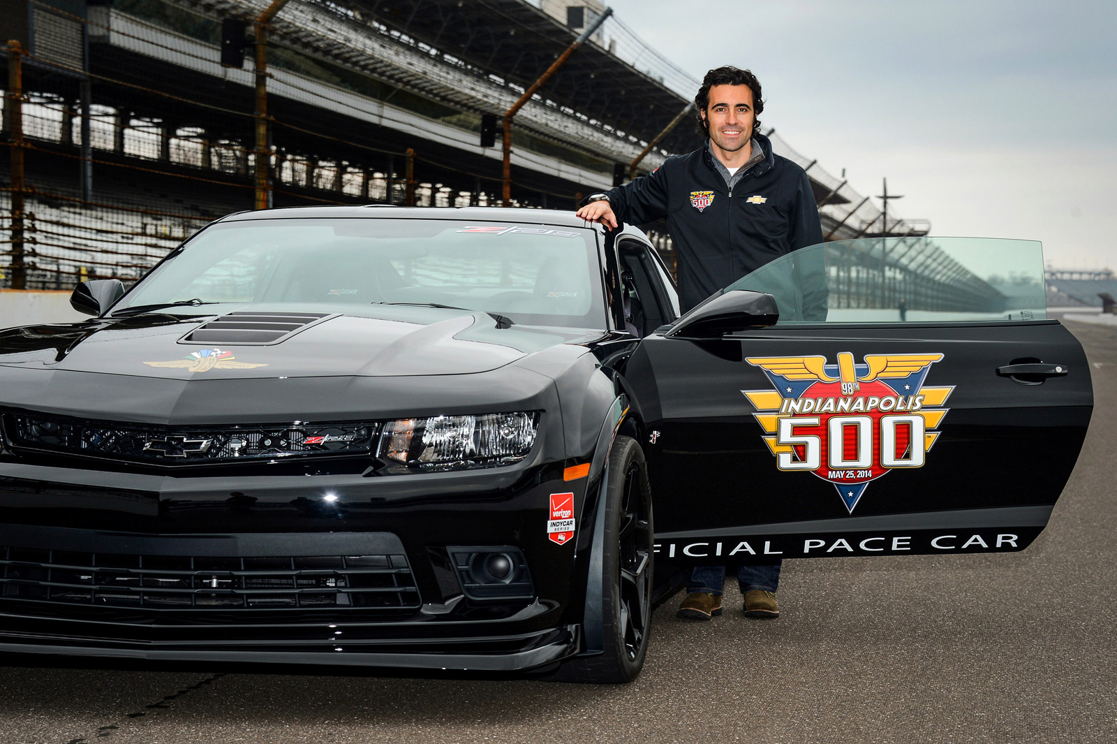 Dario Franchitti To Pace Indy 500 Using 2014 Camaro Z/28