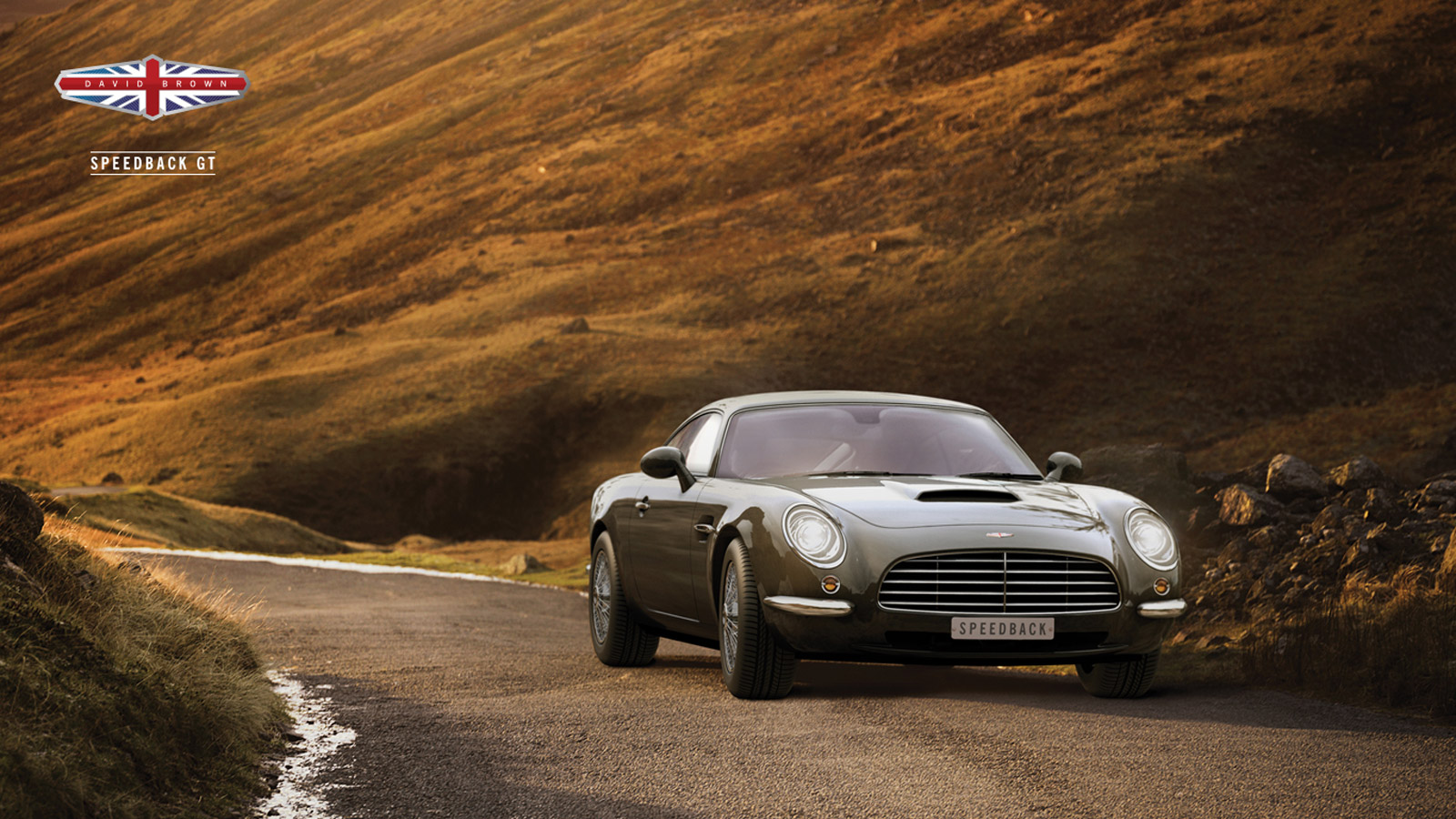 David Brown reveals deliciously retro Speedback GT