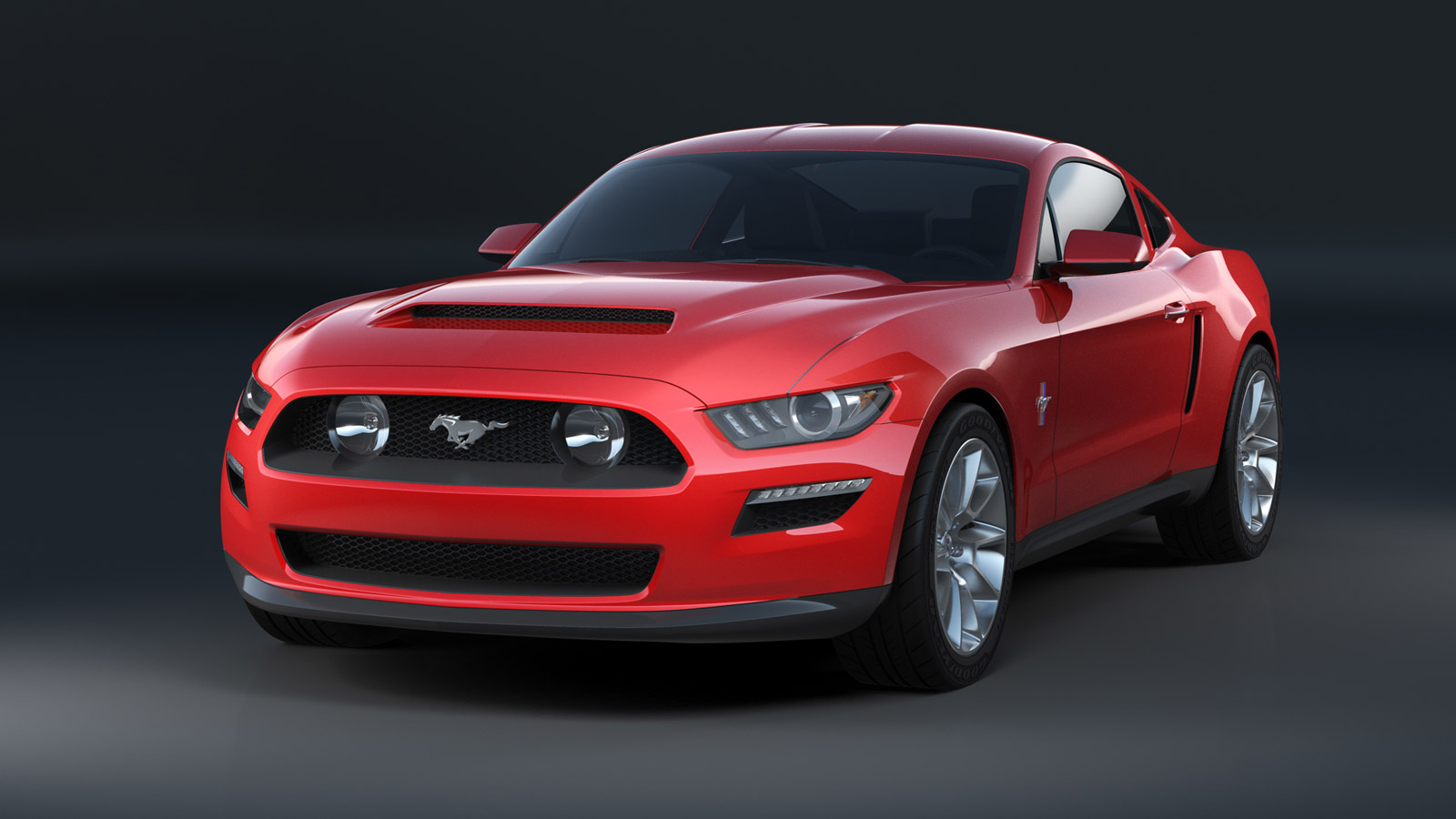 this is what the 2015 ford mustang might have looked like. Black Bedroom Furniture Sets. Home Design Ideas