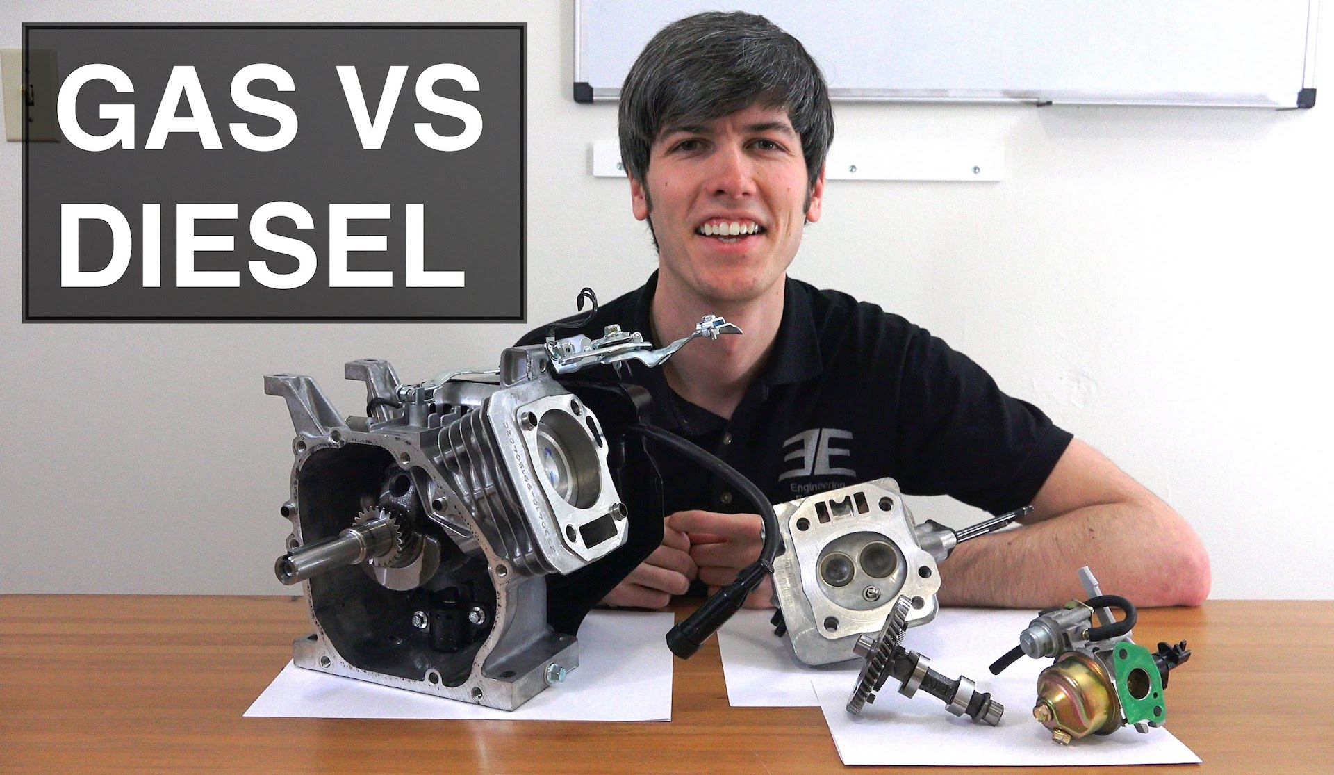 Diesel and gas, it's time to learn the difference