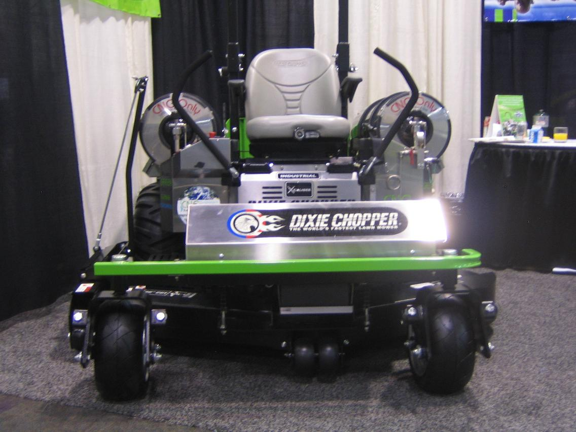 The World S Fastest Lawn Mower Now Even Greener