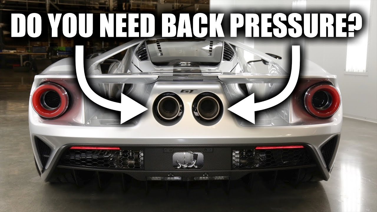 Do Vehicle Exhaust Systems Need Back Pressure 2007 Ford Fusion
