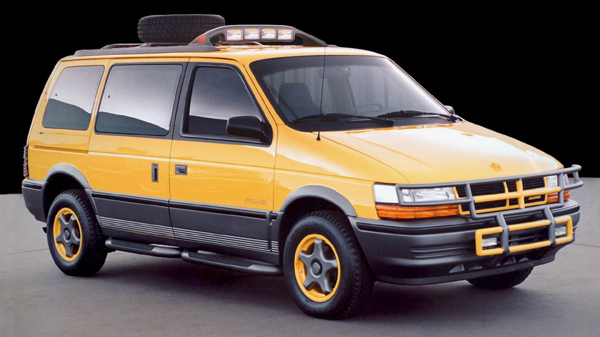 Dodge almost made an off-road version of the Caravan