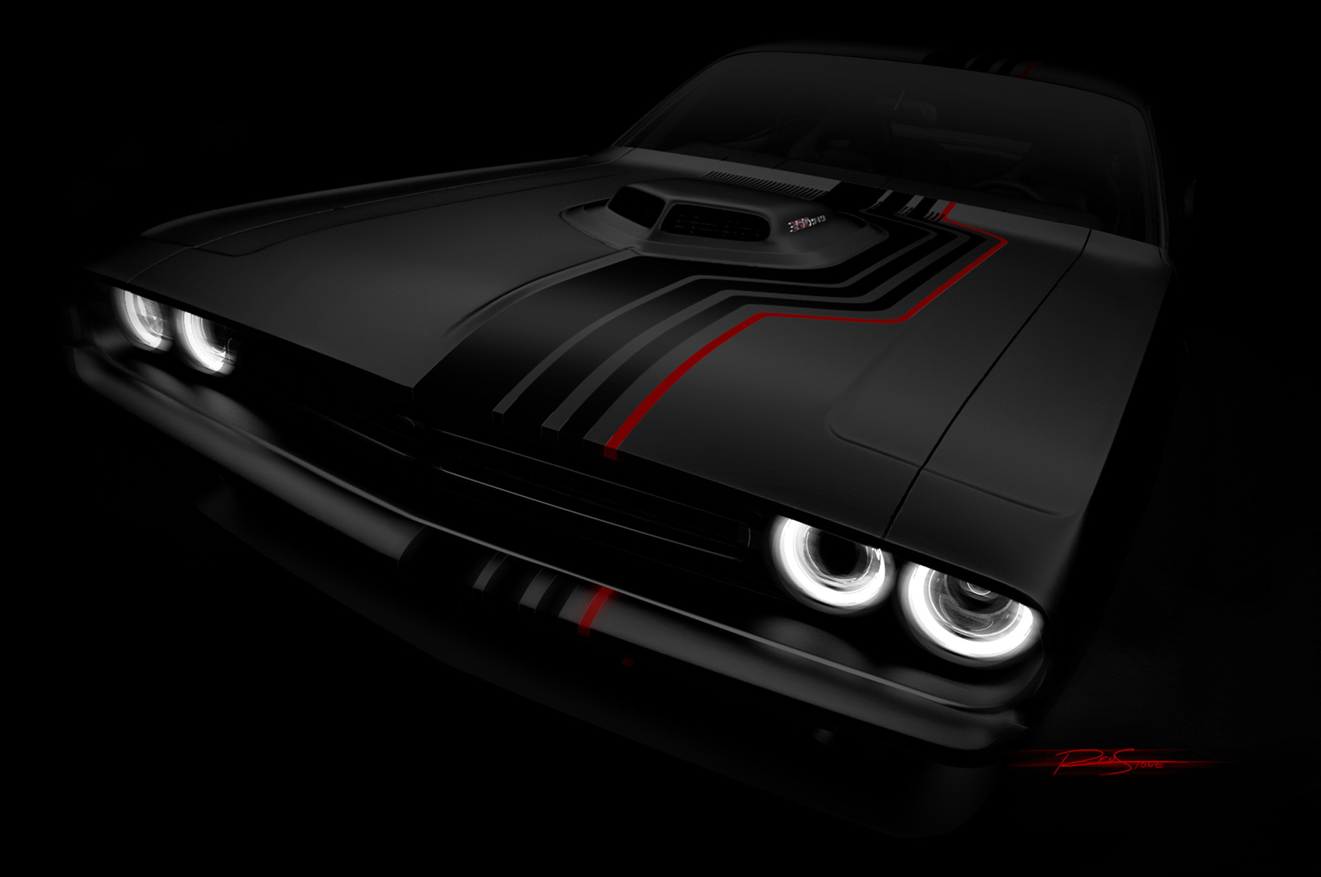 Custom Dodge Challenger SRT 392 among Mopar's 2016 SEMA fleet