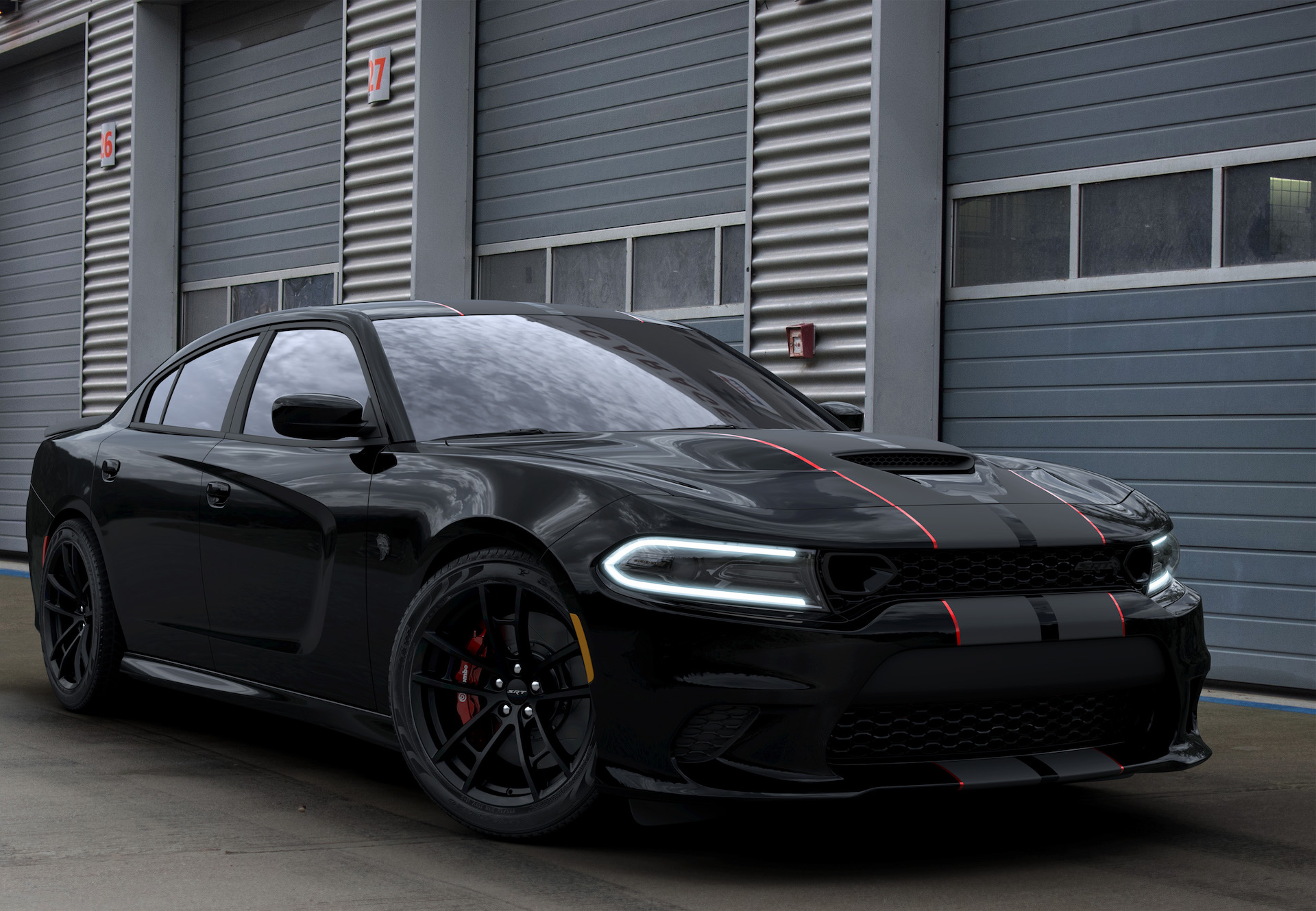 2019 Dodge Charger Srt Hellcat Octane Edition Fuels The Blackout Trend