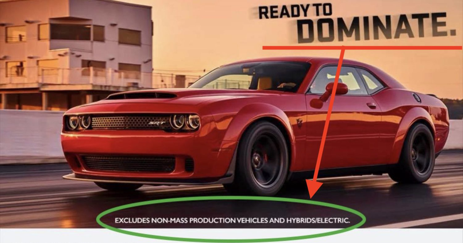 Dodge Promotes Electric Cars In Ad For Demon