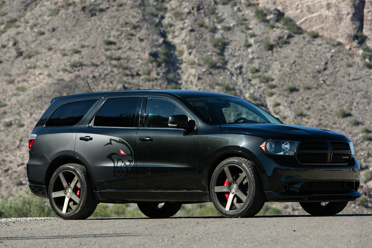 Hyundai Spy Shots >> Someone built a Durango Hellcat because Dodge won't