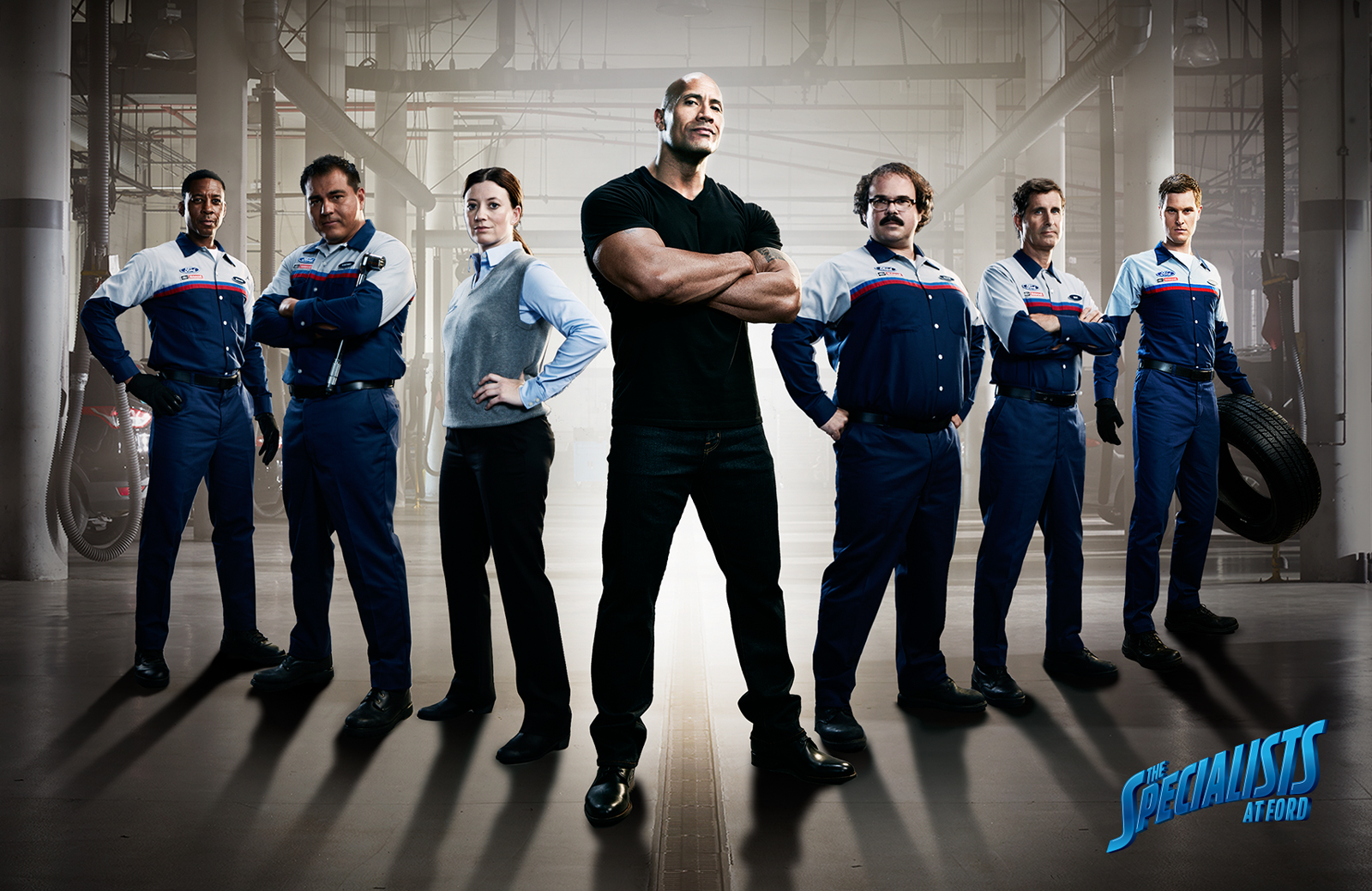 Dwayne 'The Rock' Johnson Stars In New Ford Service Spot ... - photo#39