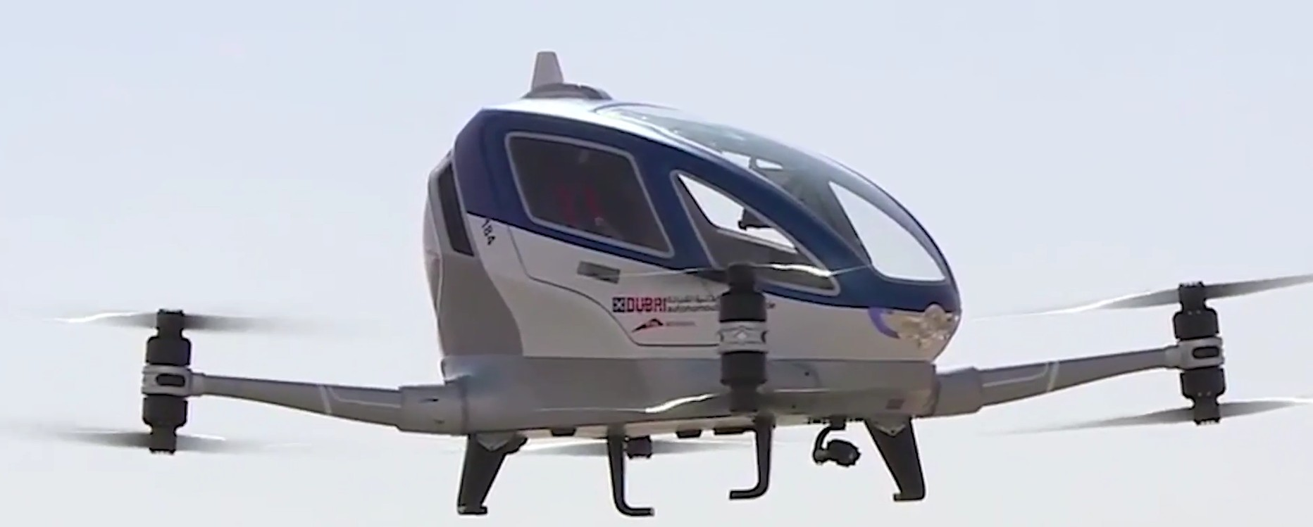 Dubai to offer flying taxi service using autonomous drones?