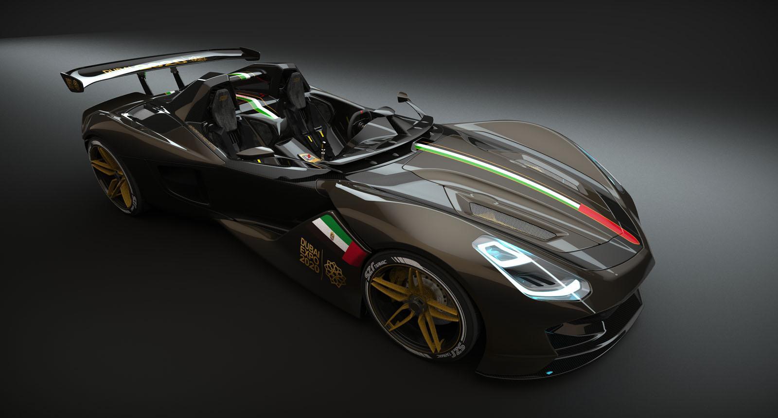 Dubai Roadster To Rival Hardcore Track Specials