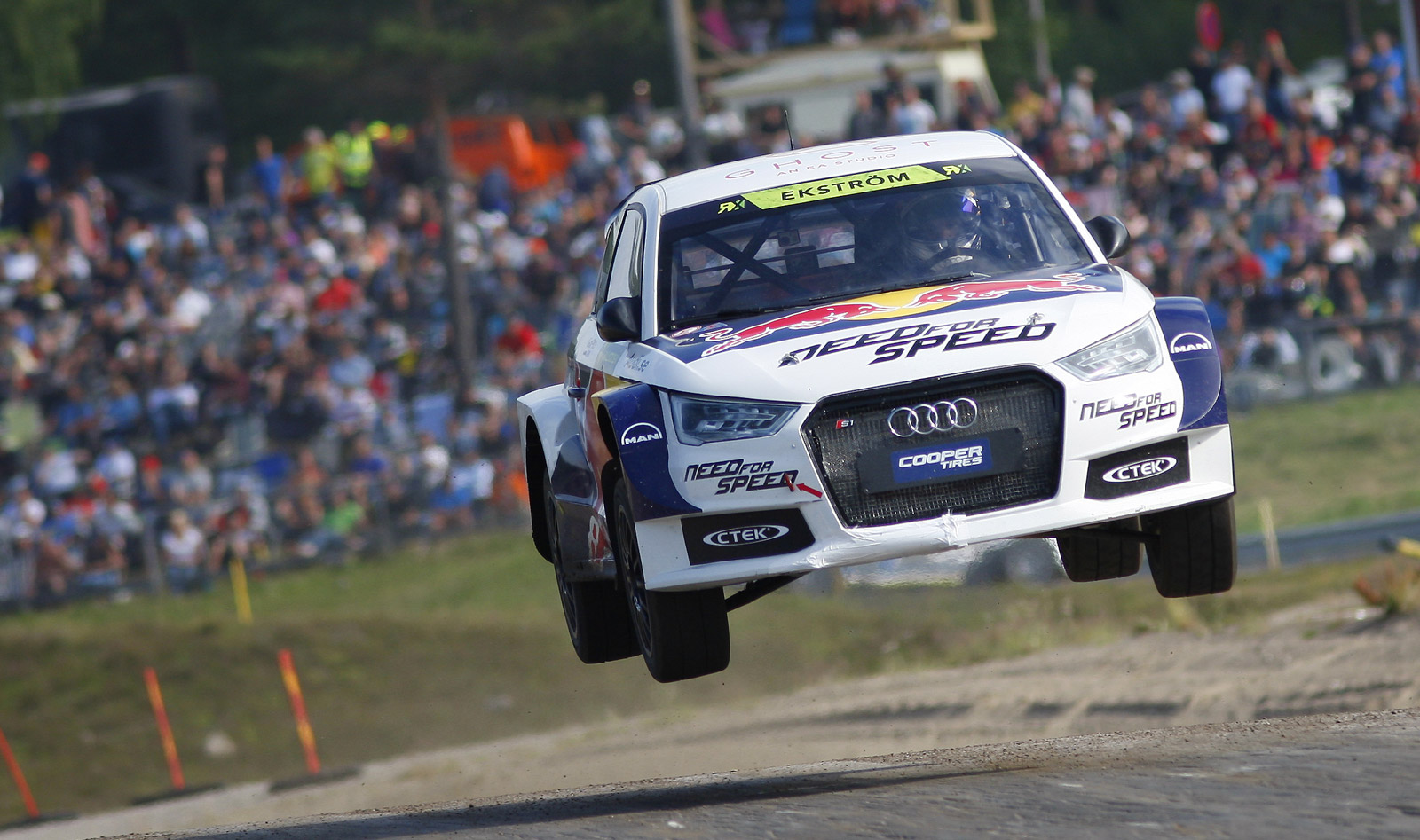 Audi S1 Rally Car Driven To Victory In Fifth Round Of World Rx