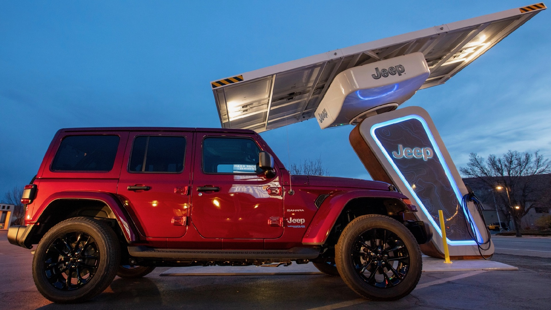 Electrify America is helping Jeep set up a charging network at off-road trailheads