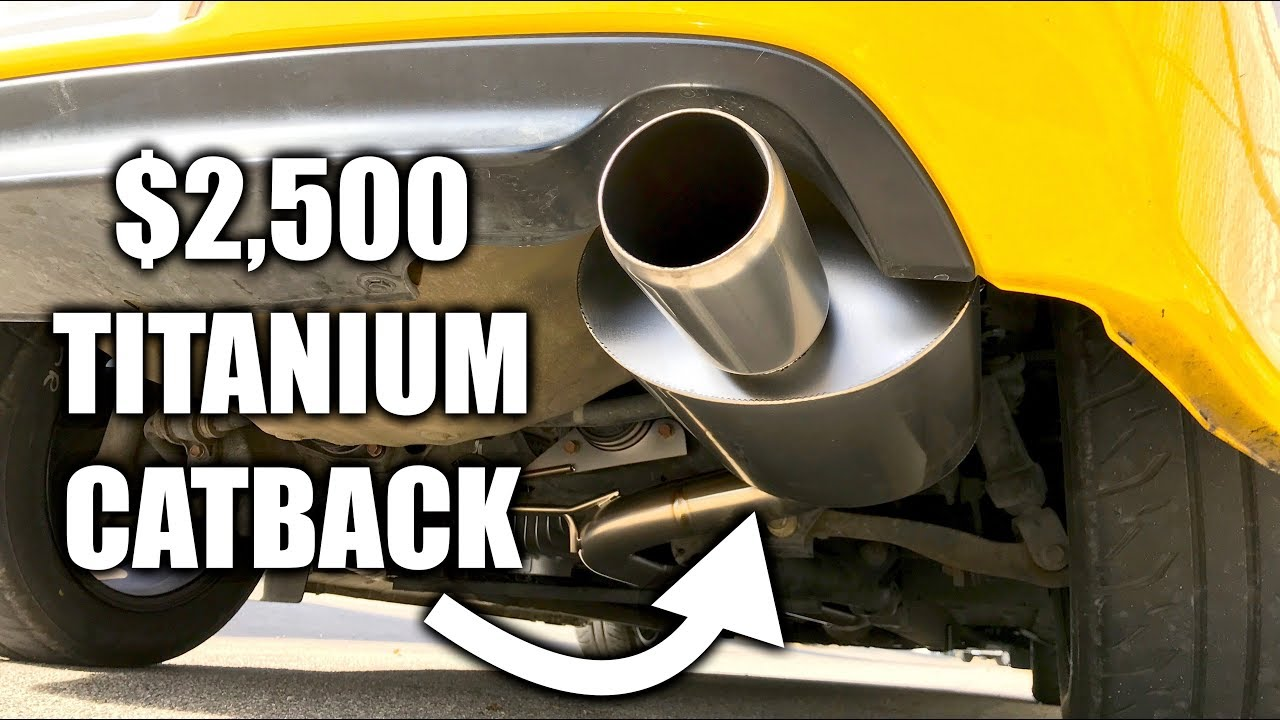 Can A Catback Exhaust Actually Make Your Car Faster