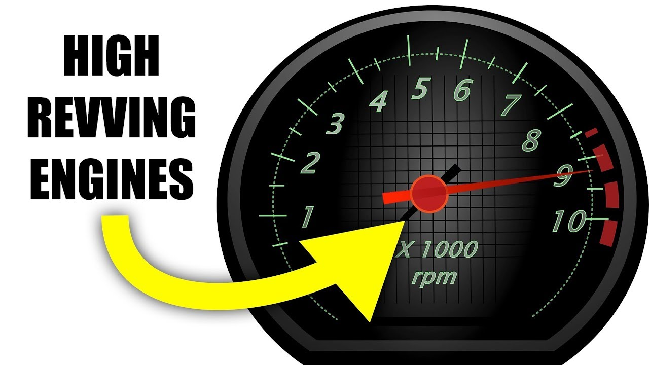 Why can some engines rev to 9,000 rpm?
