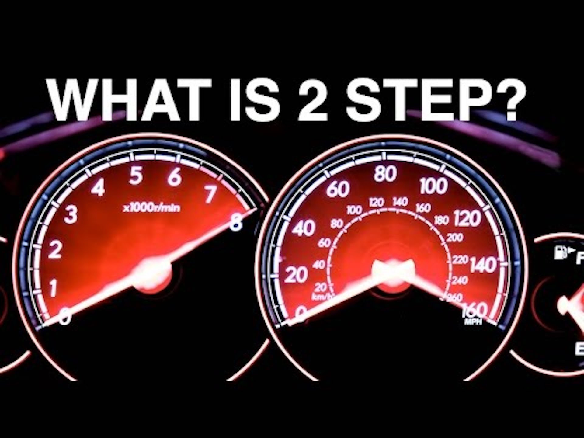How a two-step rev limiter works