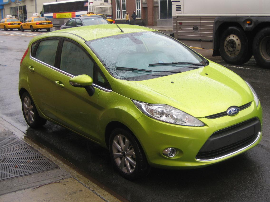 2011 Ford Fiesta Green Cars Get Good Really Good