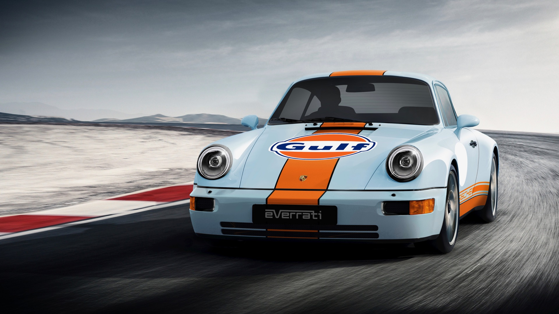 Electrify your Porsche 911 in stealth by giving it a Gulf Oil livery