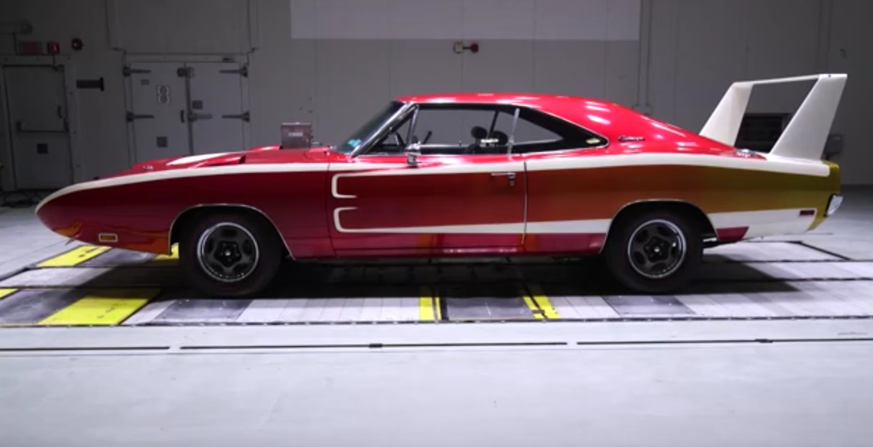 How The Aerodynamics Of 1969 Dodge Charger Daytona Compare To A Modern Hellcat