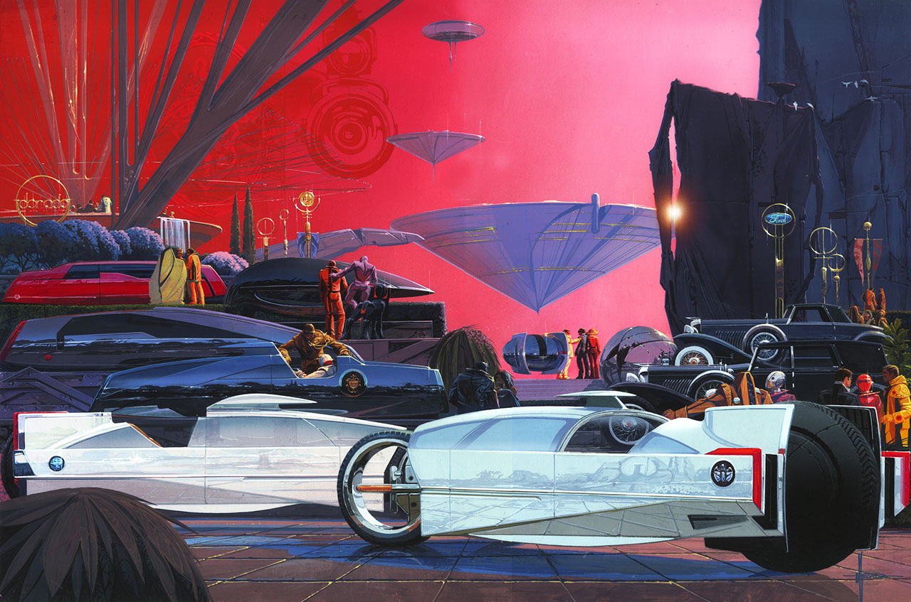 Automotive futurist Syd Mead dies at 86