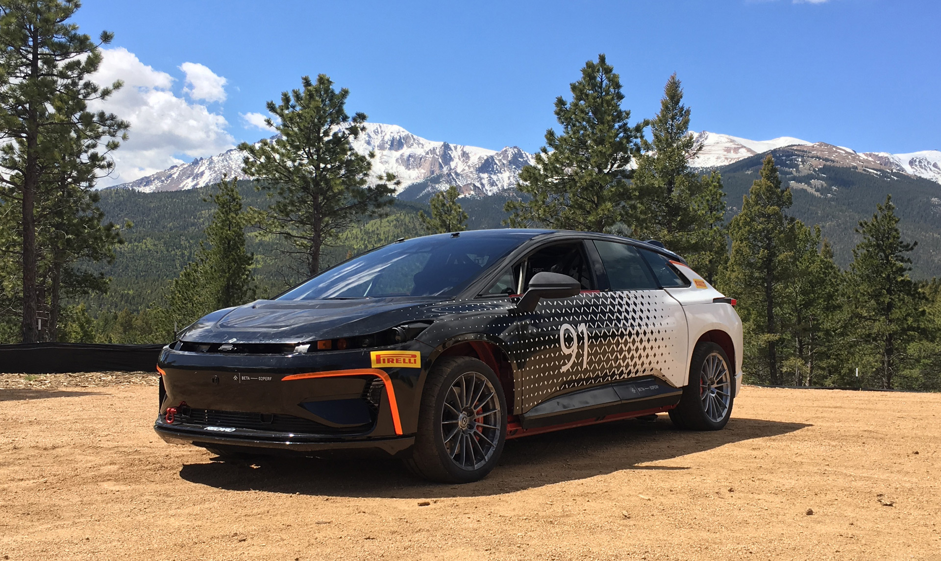 Model 3 photos and video trump on energy ff 91 at pikes peak bolt ev sales today s car news