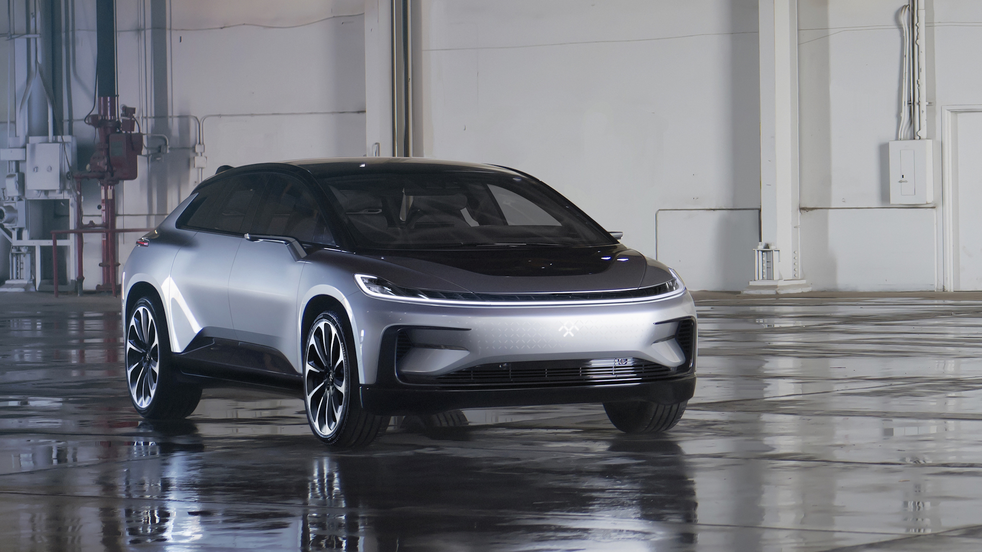 Faraday Future Unveils Ff 91 Its First Production Electric Car Deposits Open No Price Given