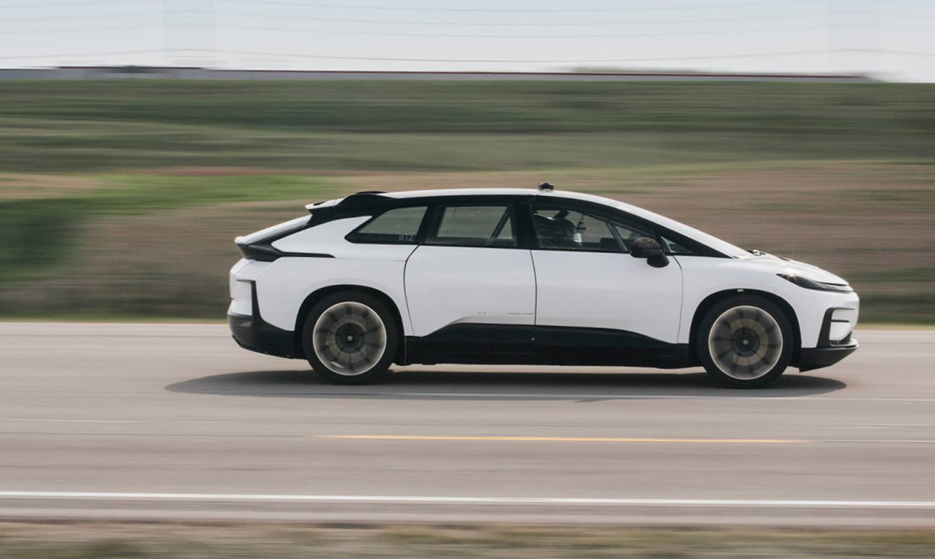 Faraday Future reveals first production FF91 body