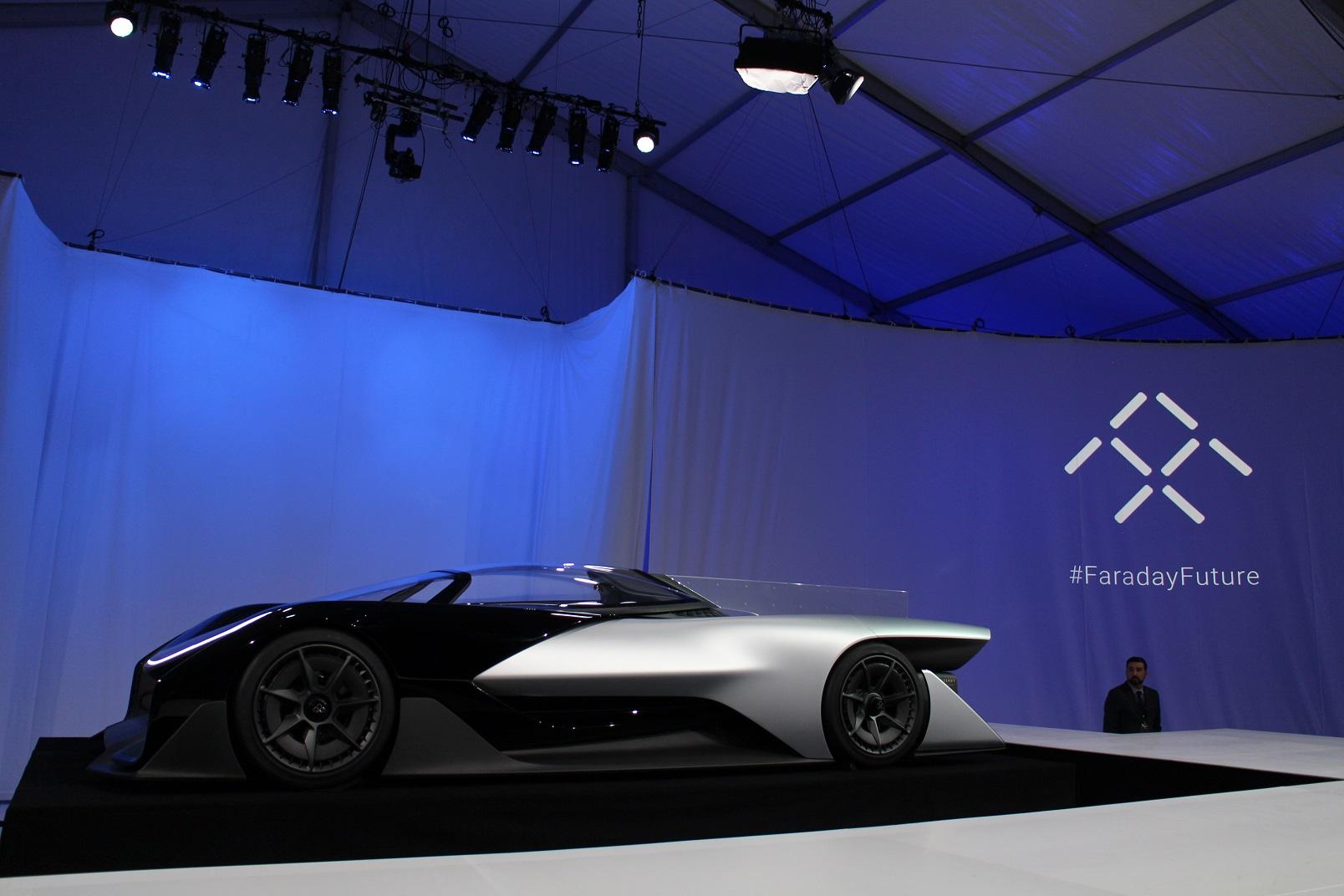 Faraday Future hires ex-Ferrari exec, plans to test cars in Michigan