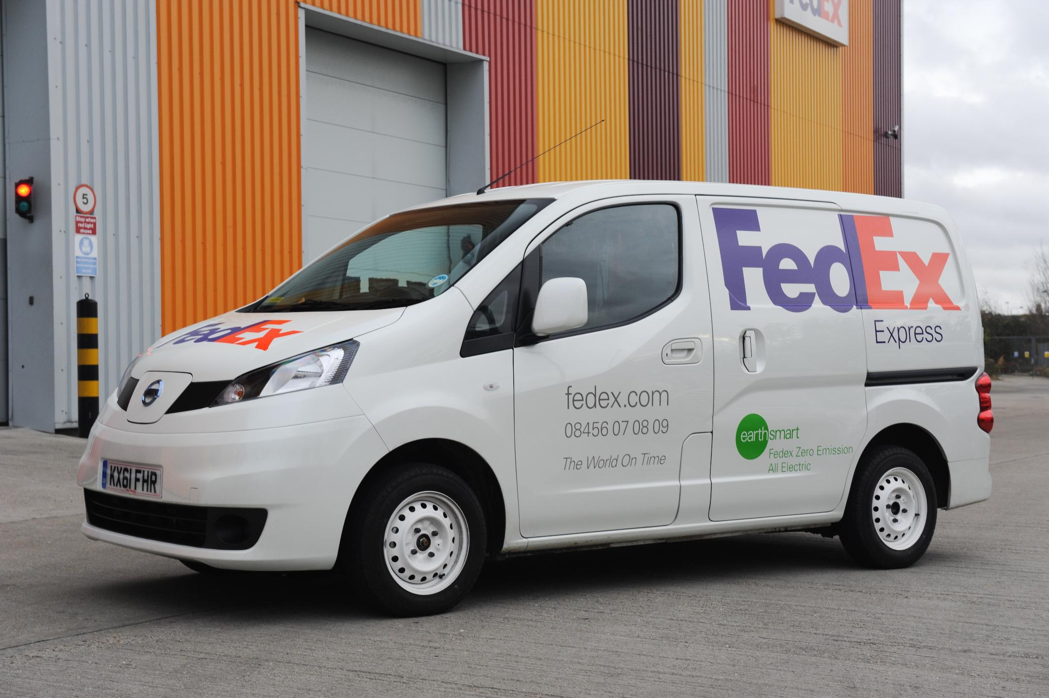nissan fedex to trial nissan nv200 electric vans in london. Black Bedroom Furniture Sets. Home Design Ideas