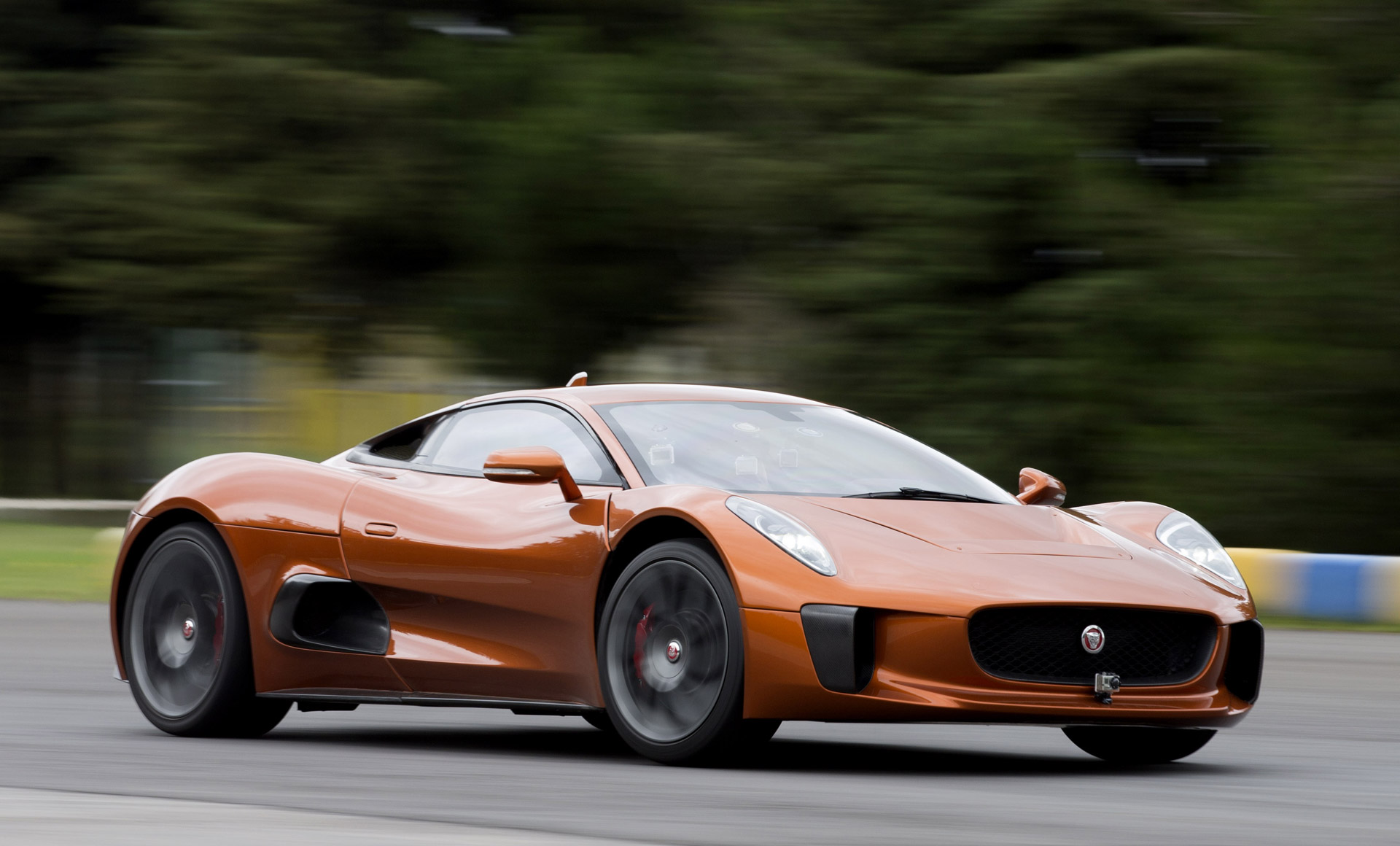 Felipe Massa Drives Bond Villain S Jaguar C Supercar Video