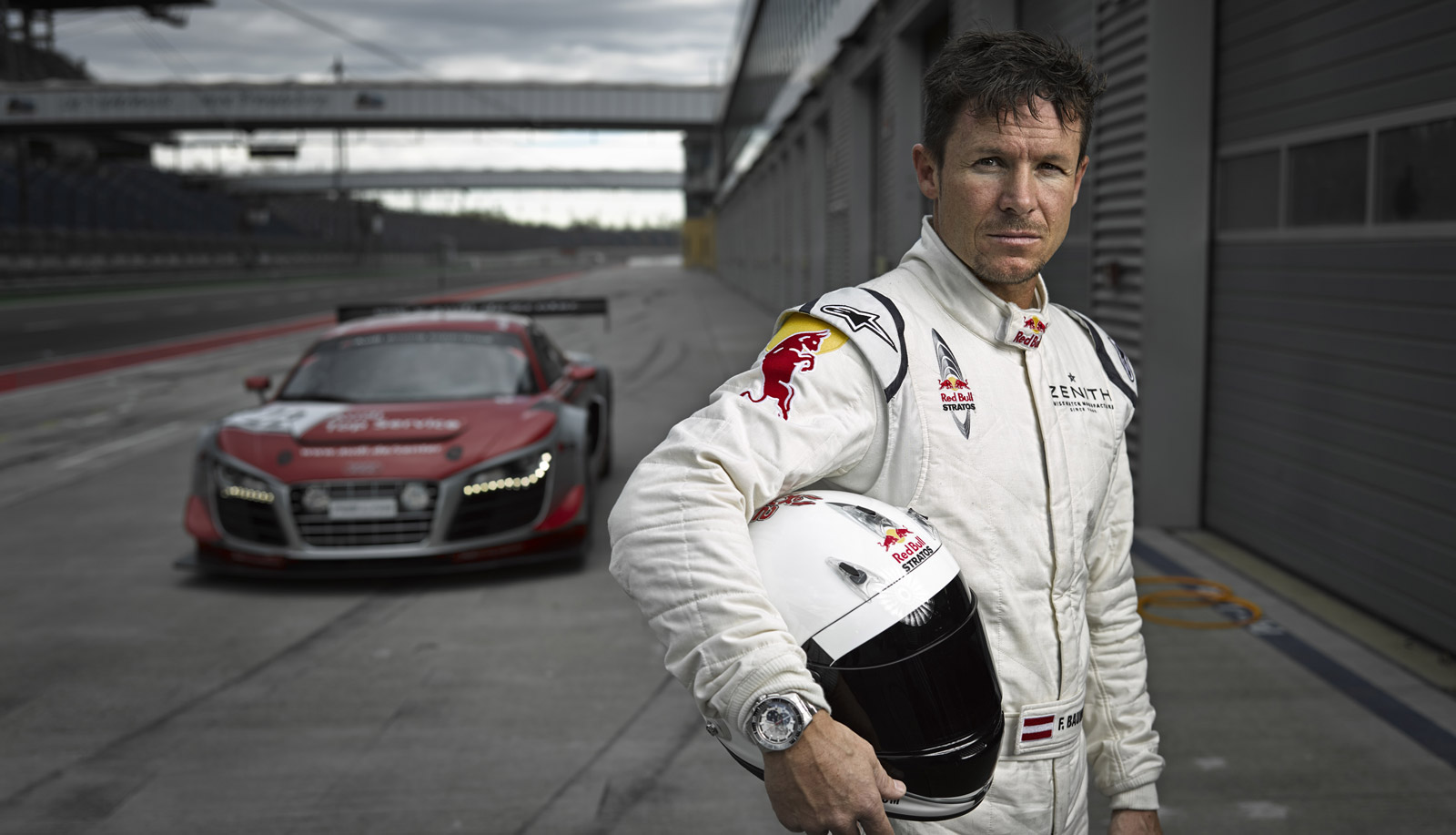 Felix Baumgartner To Race Audi R8 In Nürburgring 24 Hours