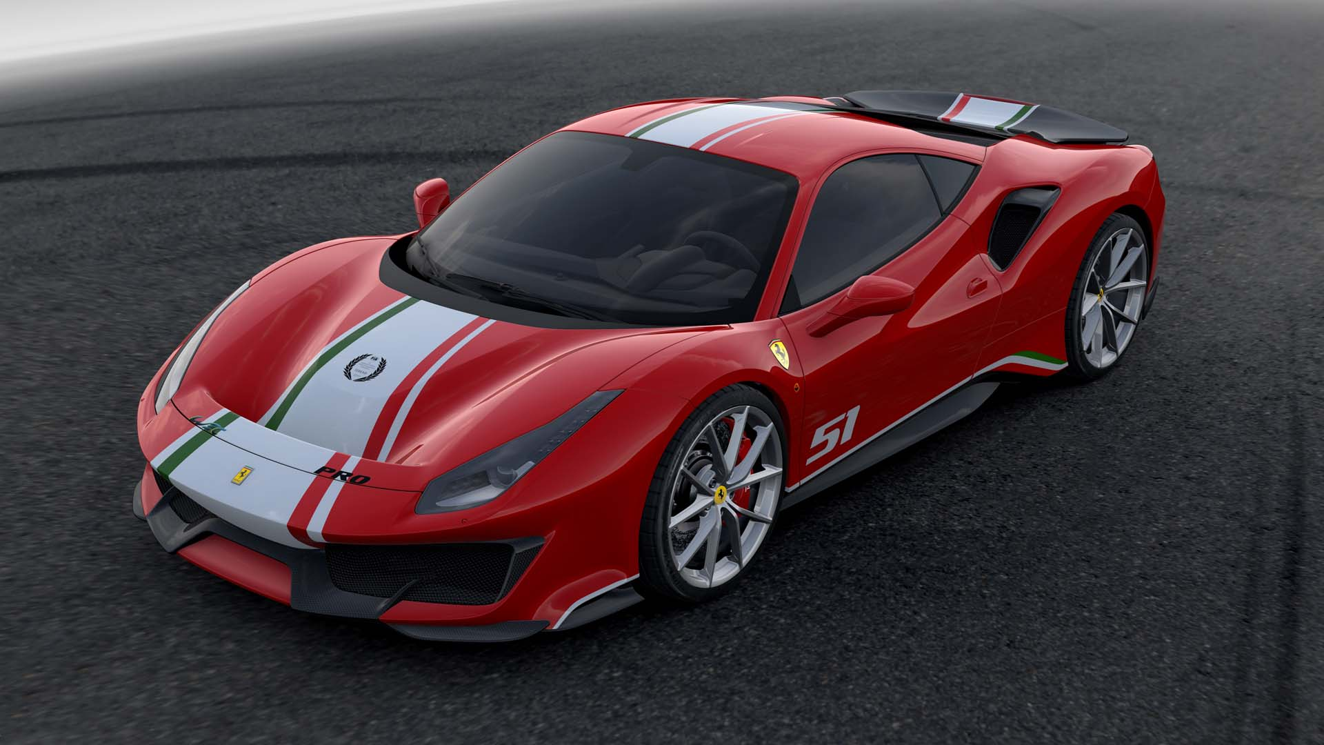 Racing For Pinks Ferrari 488 Pista Piloti Ferrari Only Offered To Customer Racers