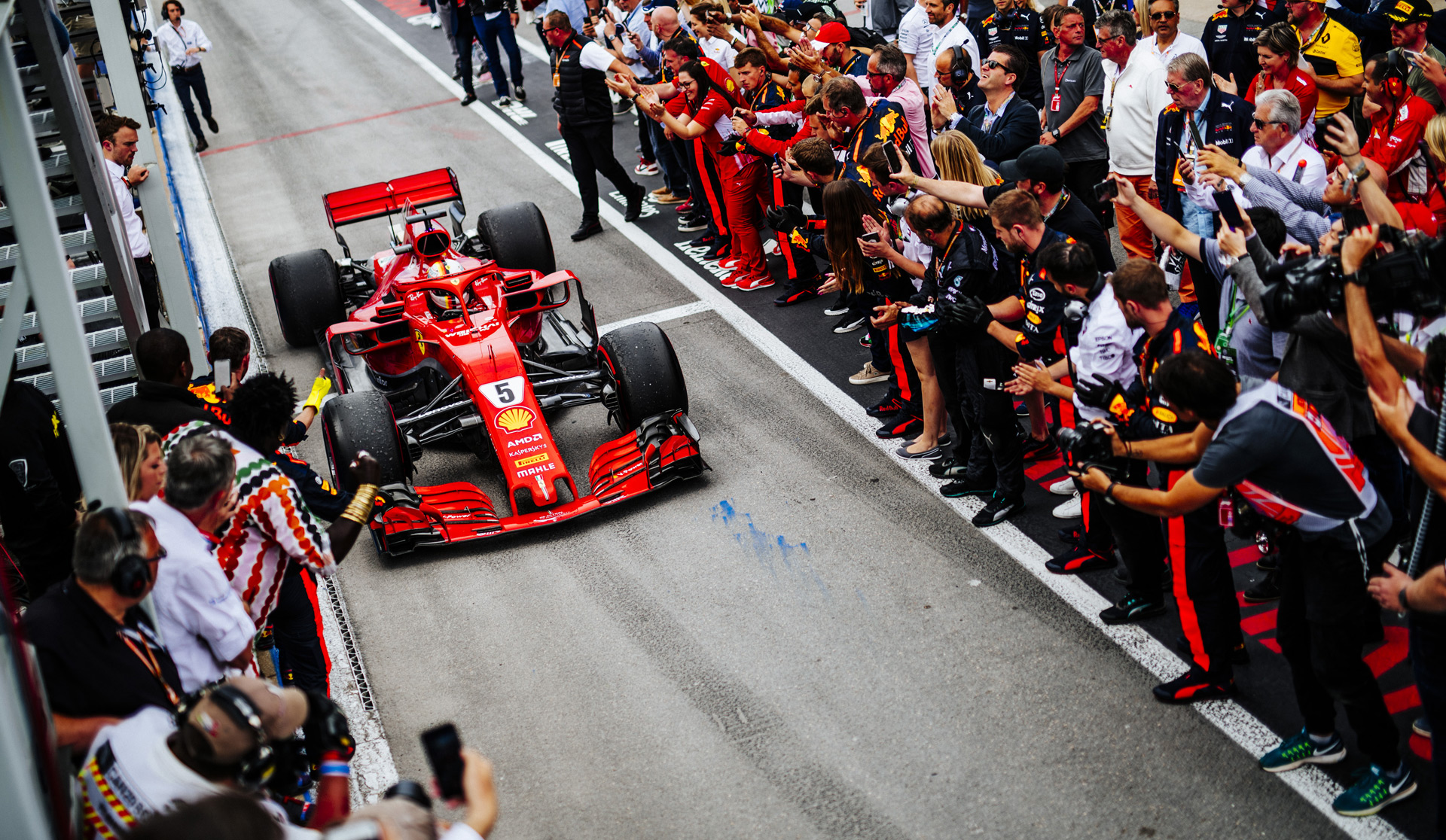 vettel back on top after 2018 formula 1 canadian grand prix. Black Bedroom Furniture Sets. Home Design Ideas
