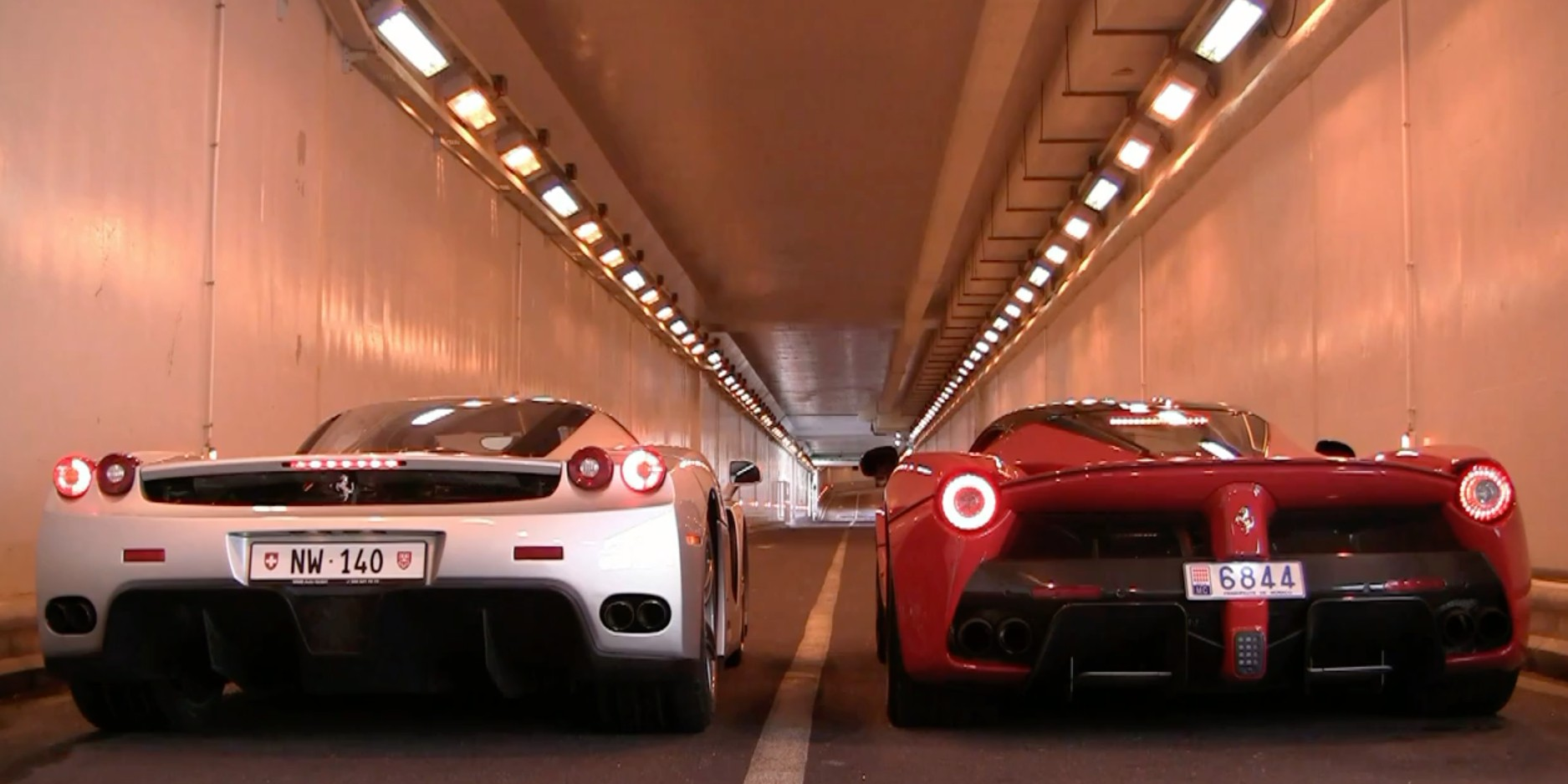 LaFerrari Vs. Enzo In Ferrari Flagship Rev Off: Video on drift honda civic, drift ford mustang, drift porsche,