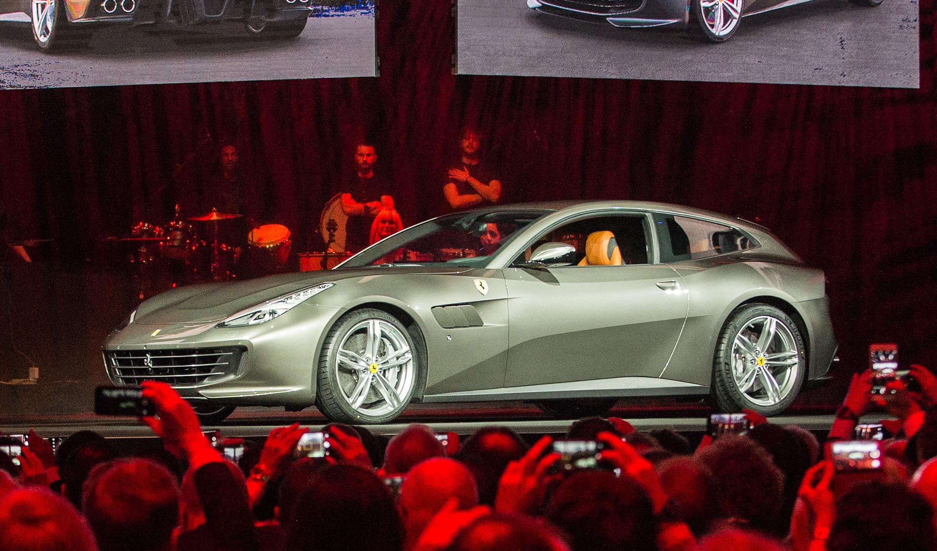 Ferrari Gtc4 Lusso Makes Villa Erba Debut Video