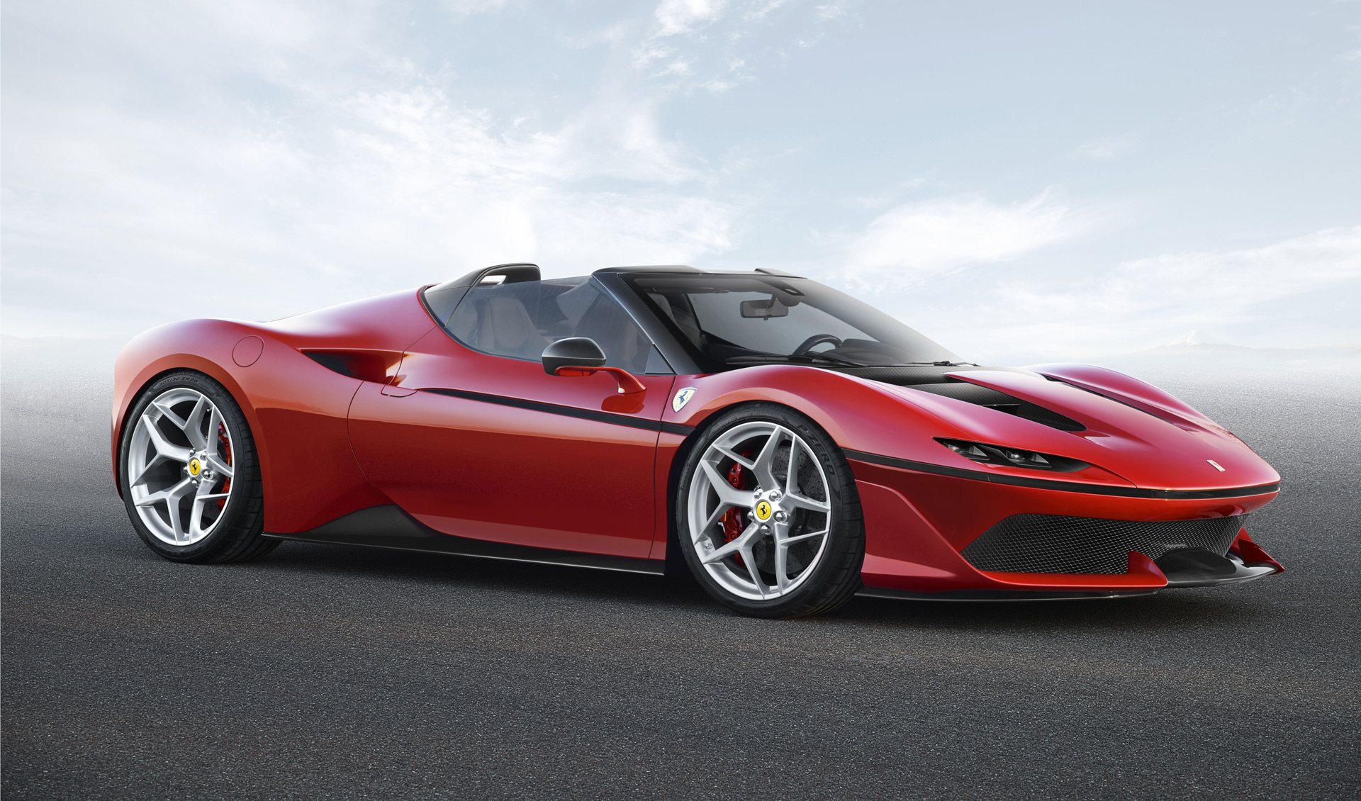 One Of Ten Ferrari J50 Special Edition Cars Surfaces For Sale